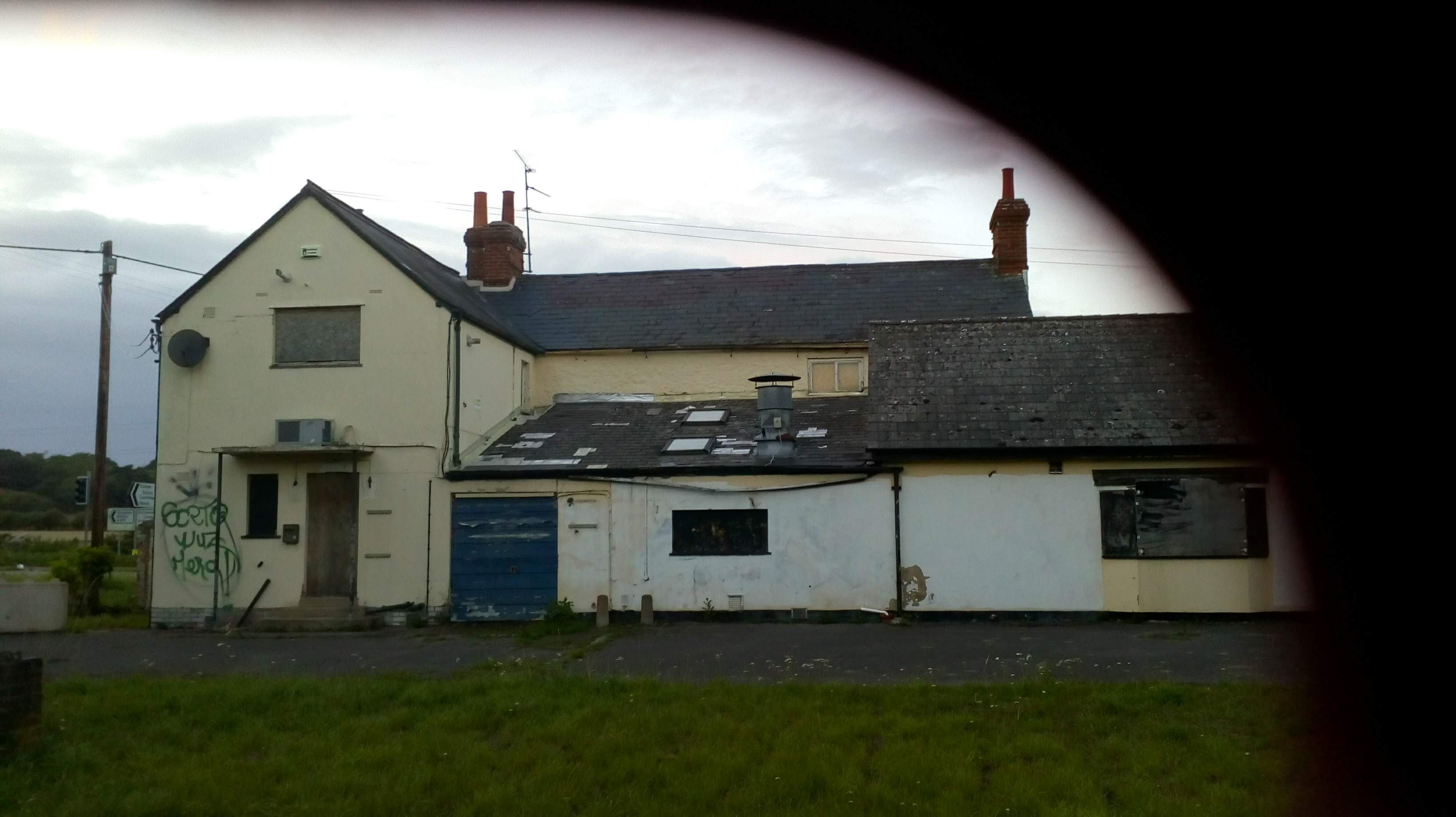 photo showing the building from the rear