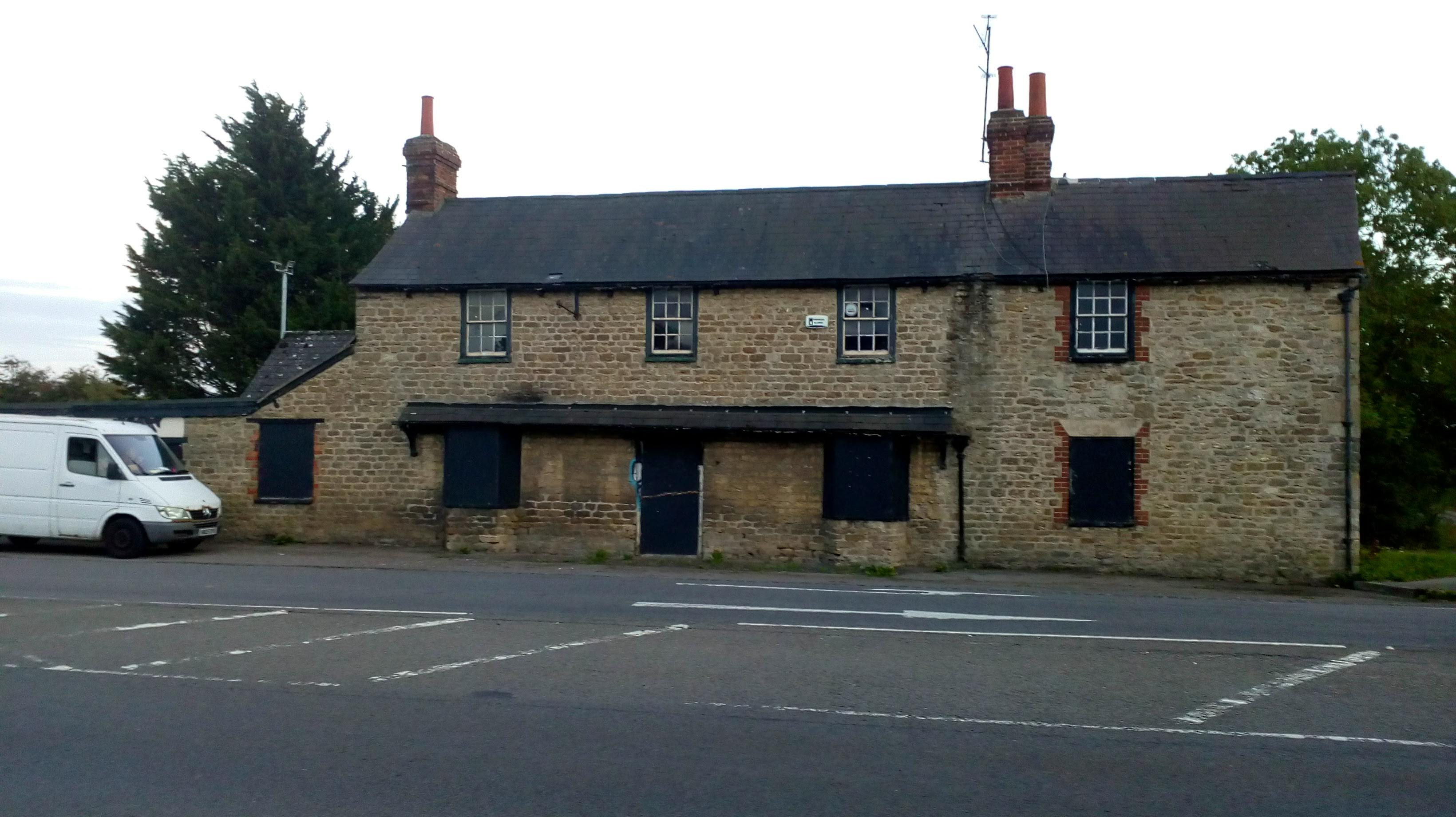 photo showing the pub from the front